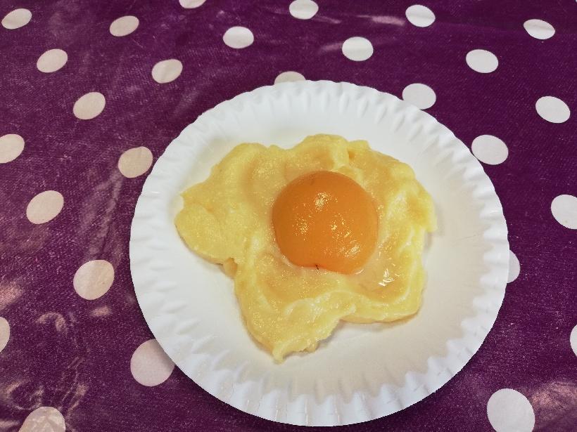 Faux œufs au plat